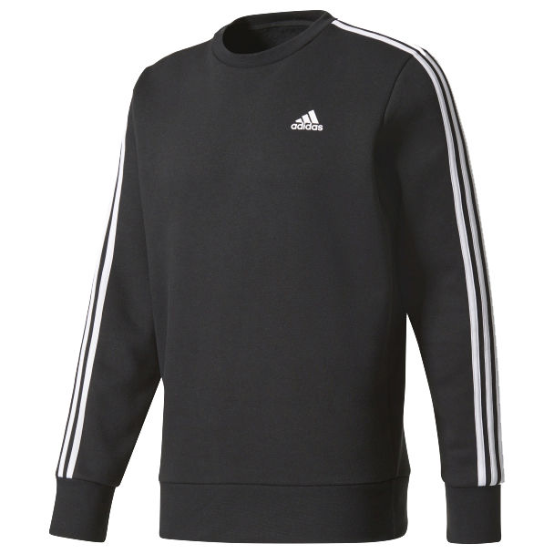 adidas Essentials 3-Stripes Crew Fleece M