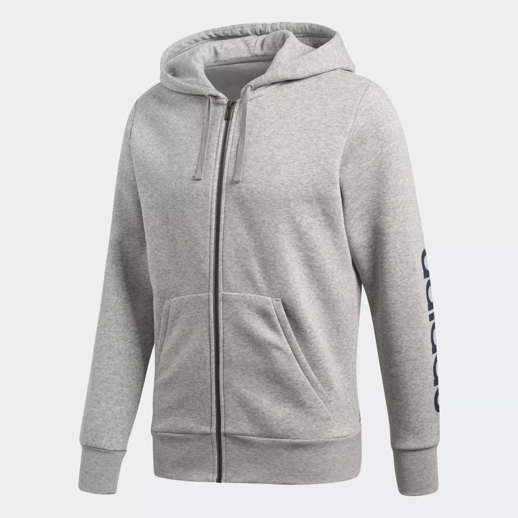 adidas Ess Linear Full Zip Hood M
