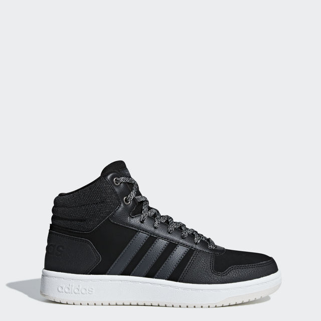 adidas Hoops 2.0 Mid W - Naisten korkeavartiset tennarit - Intersport 3073e53510