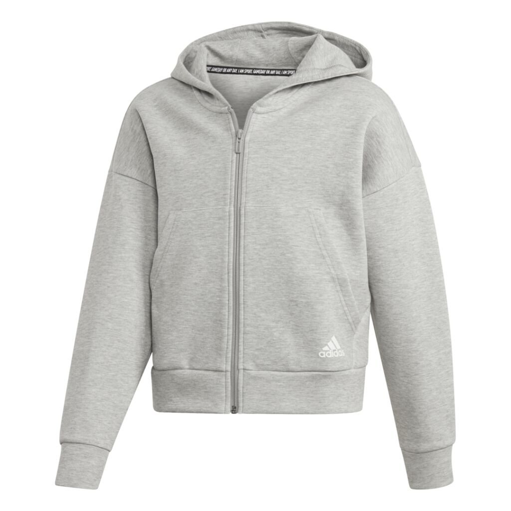 adidas Must Have 3Stripes Full Zip Hoodie JR