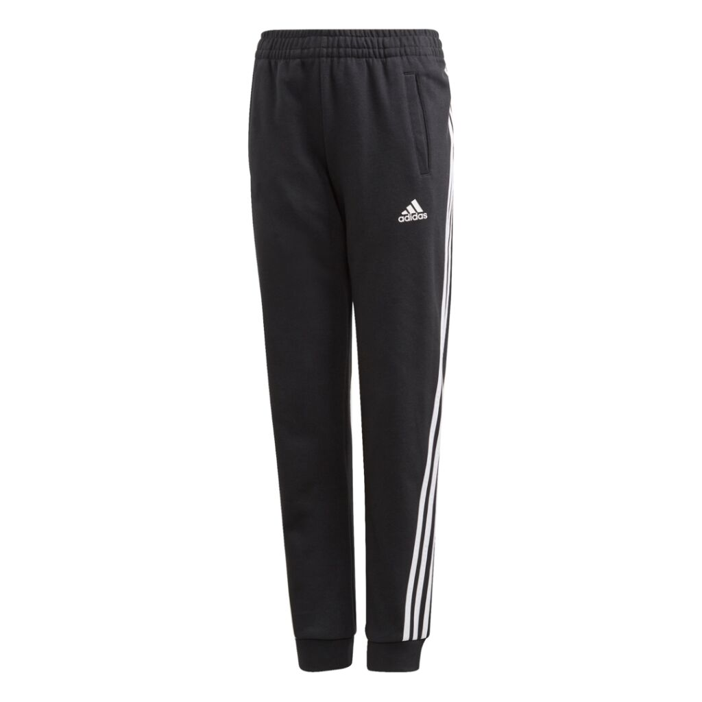 adidas 3-Stripes Tapered Leg Pants Jr