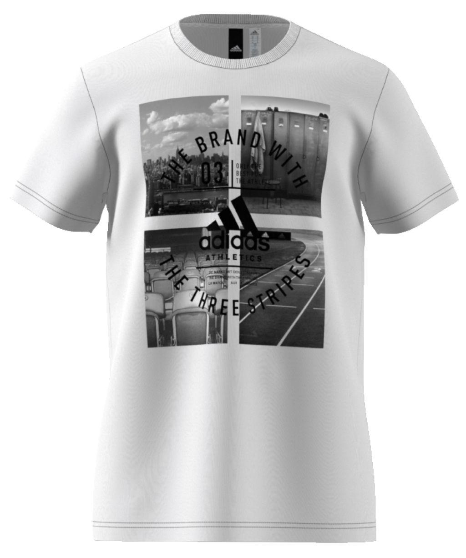 Adidas Athletic Vibe miesten t-paita Valkoinen 6eb3ce4121