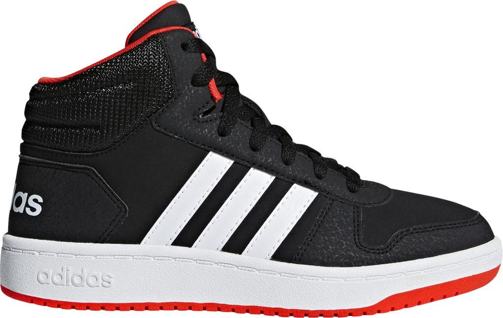 online retailer b4701 e6010 Adidas Hoops Mid 2.0 K lasten tennarit Musta