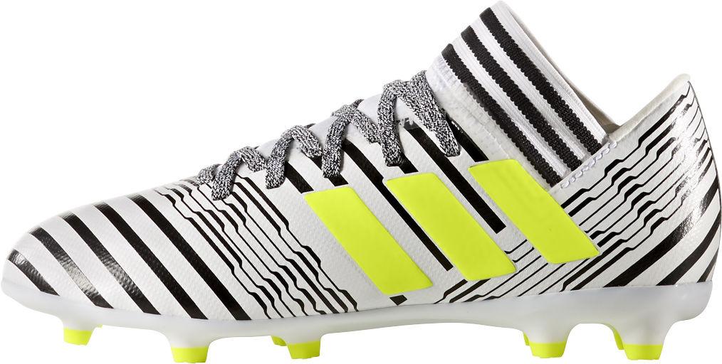 Adidas Nemeziz 17.3 Fg Jr lasten jalkapallokengät Valkoinen e2411b60c3