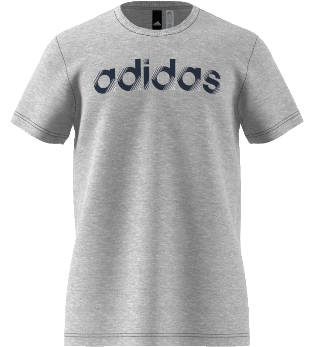 Adidas Sliced Linear miesten t-paita Harmaa c3243fd8f6