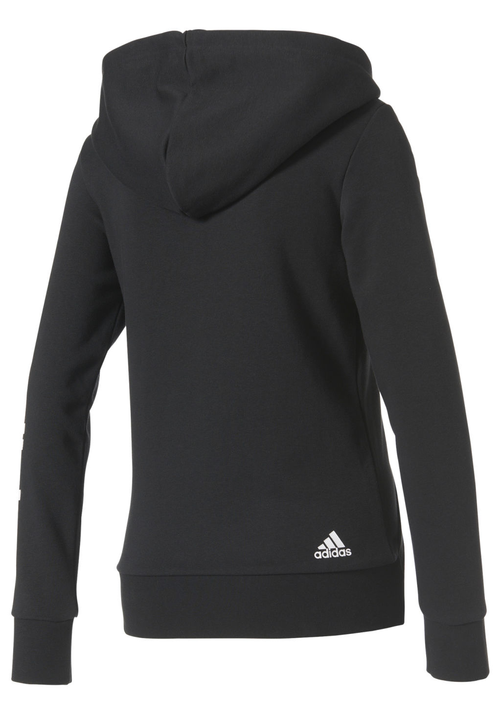 Adidas Ess Lin Fz naisten huppari Musta b91e063eca