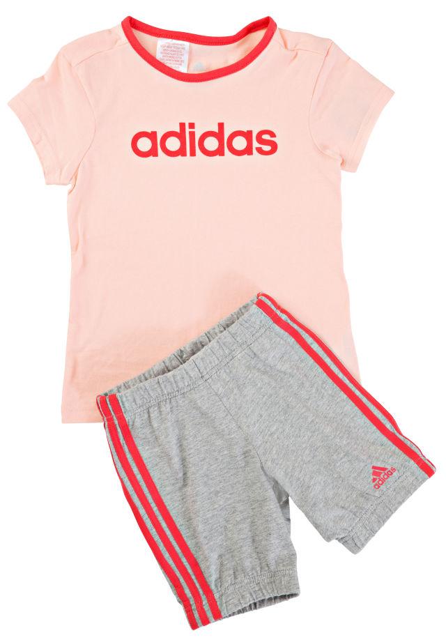Adidas Yg Pes Ts tyttöjen verkkapuku Pinkki 850aad3944