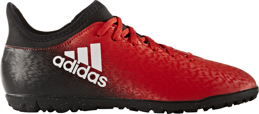 Adidas X 16.3 TF Jr lasten jalkapallokengät Punainen 0acbdcc31b