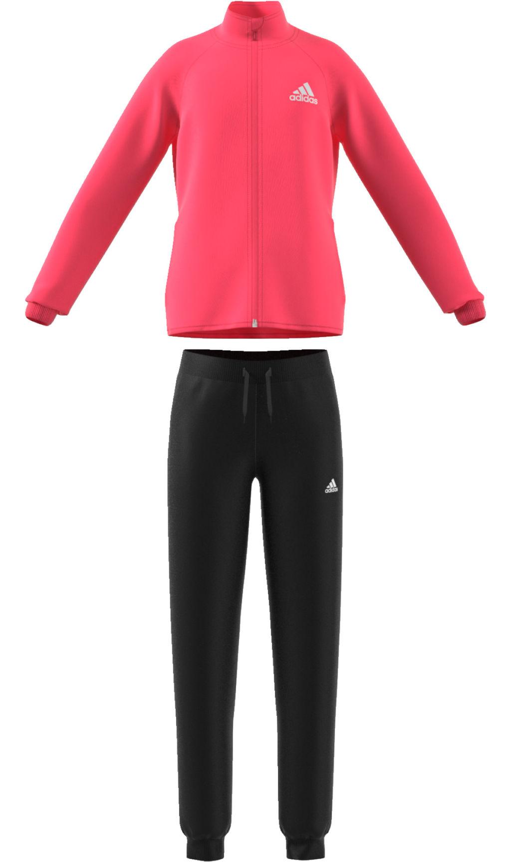Adidas Yg S Entry Ts tyttöjen verryttelyasu Pinkki e351e82b75