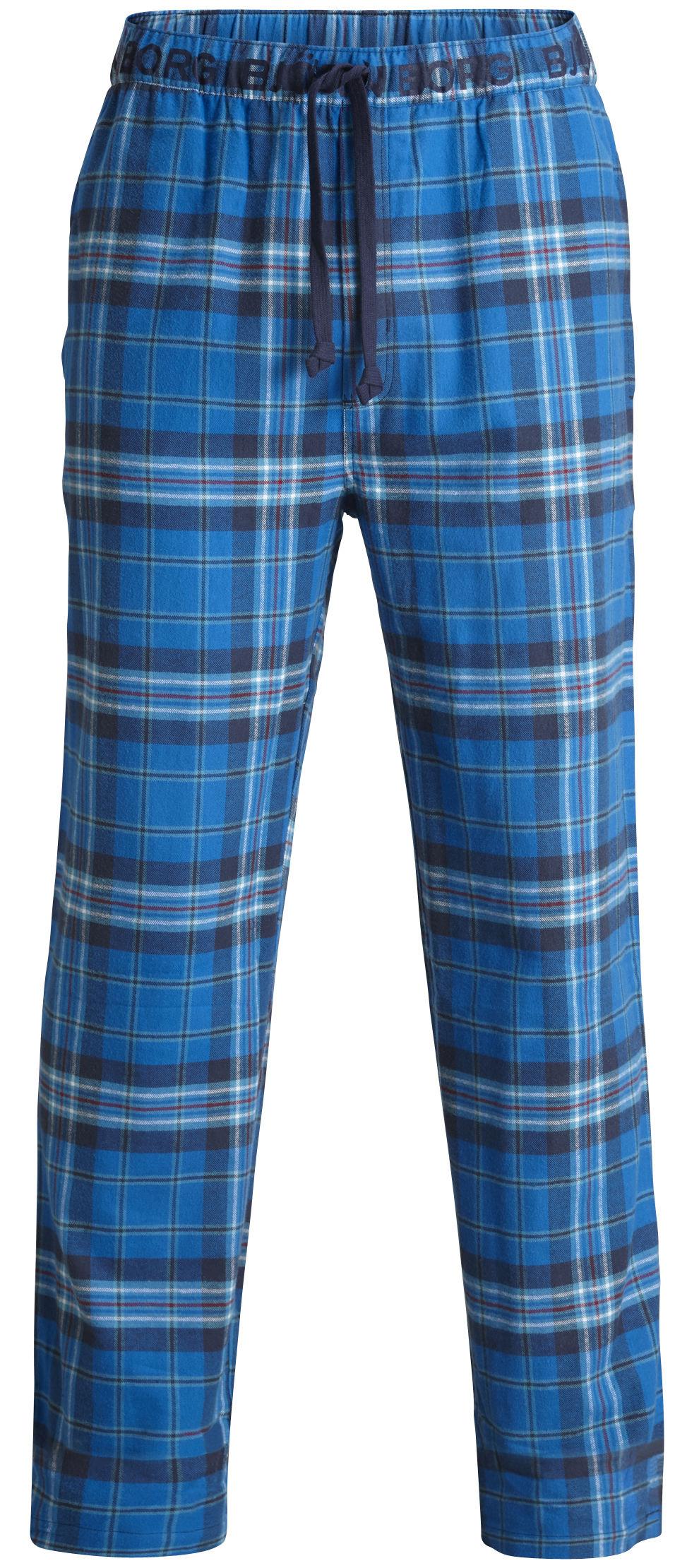 Björn Borg Knights Check miesten pyjama housut Sininen 60884ec243