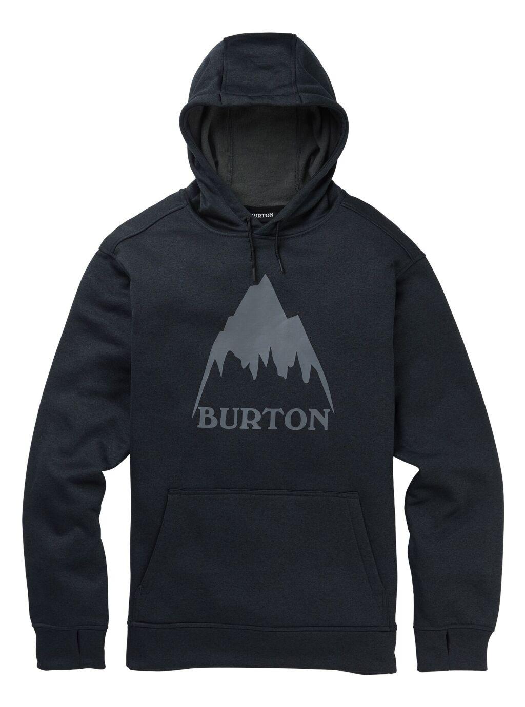 laatu ostokset uusia kuvia Burton Oak Pullover Hoodie M - Miesten huppari   Intersport