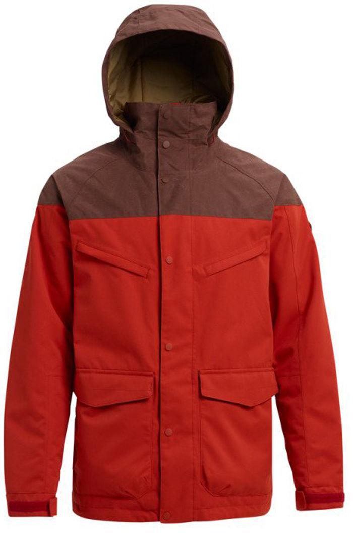 Burton Breach miesten lumilautailu takki Punainen 41fe070941