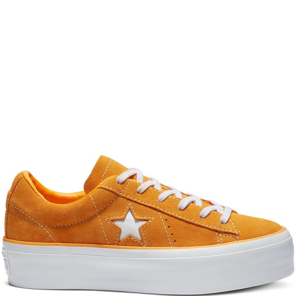 Converse One Star Platform OX - Naisten matalavartiset tennarit ... b04f3dc252