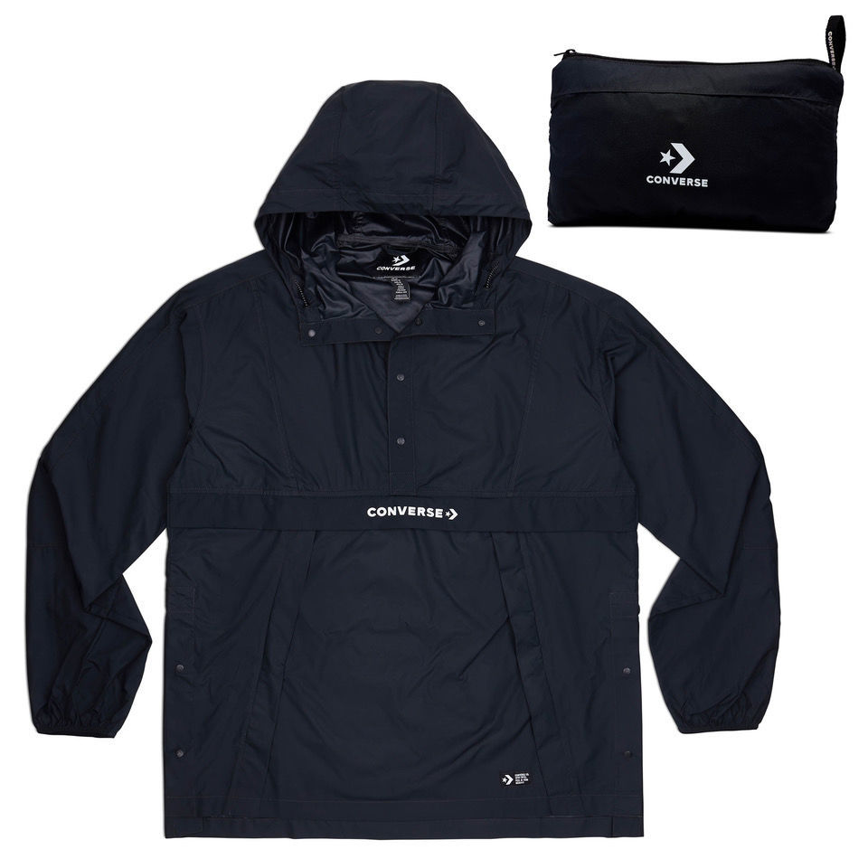 Converse Packable Hooded Anorak M