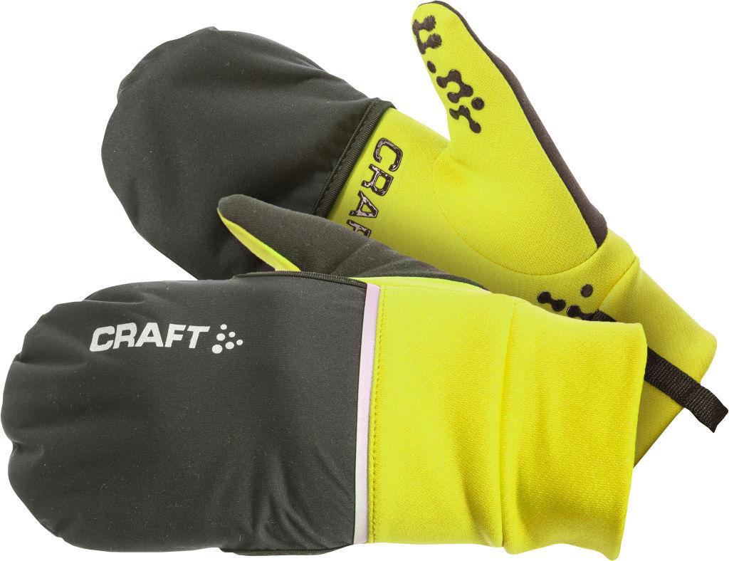 Craft Hybrid Weather Glove aikuisten hanskat Kirkkaankeltainen cc5ddf968a