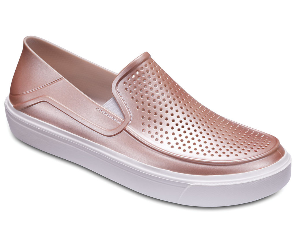 Crocs Citilane Roka Metallic Slip On W