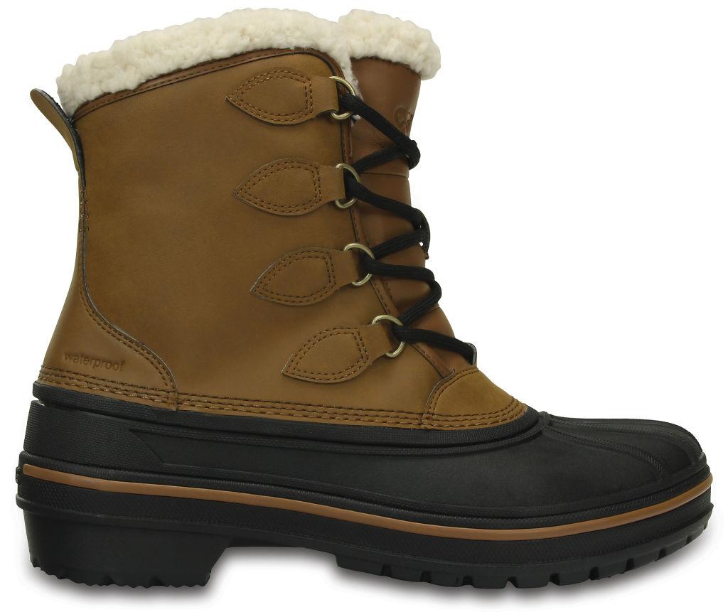 Crocs Allcast II WP naisten talvikengät Vaaleanruskea 0f25d46ff8