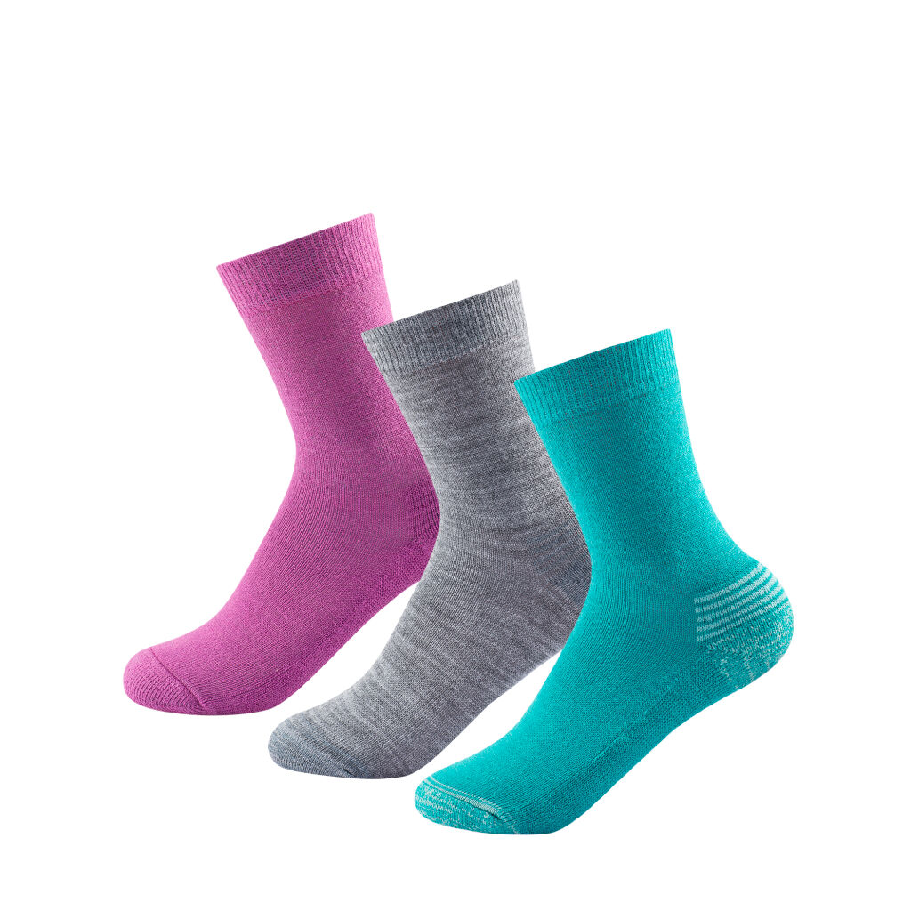 Devold Daily Medium Kid Sock 3pk