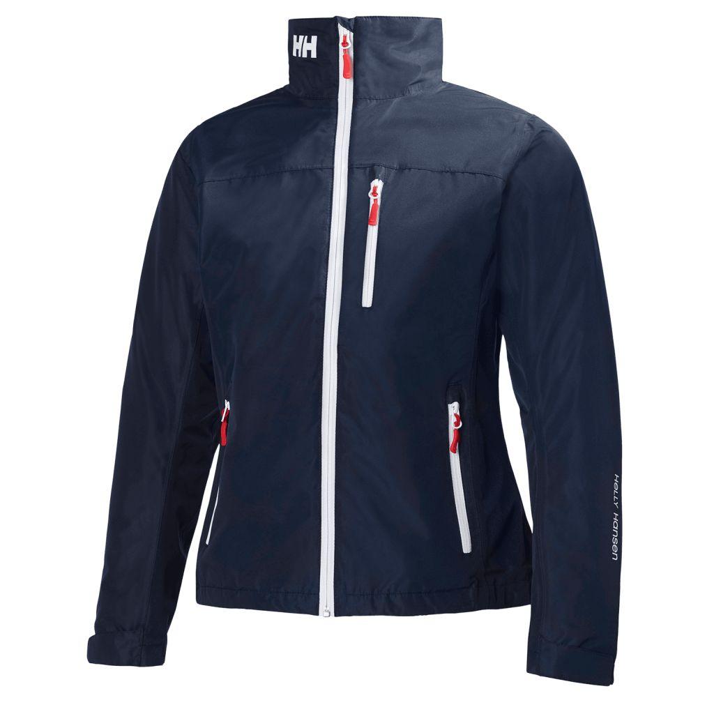 Helly Hansen Crew Midlayer Jacket naisten ulkoilutakki Tummansininen c43129dba7