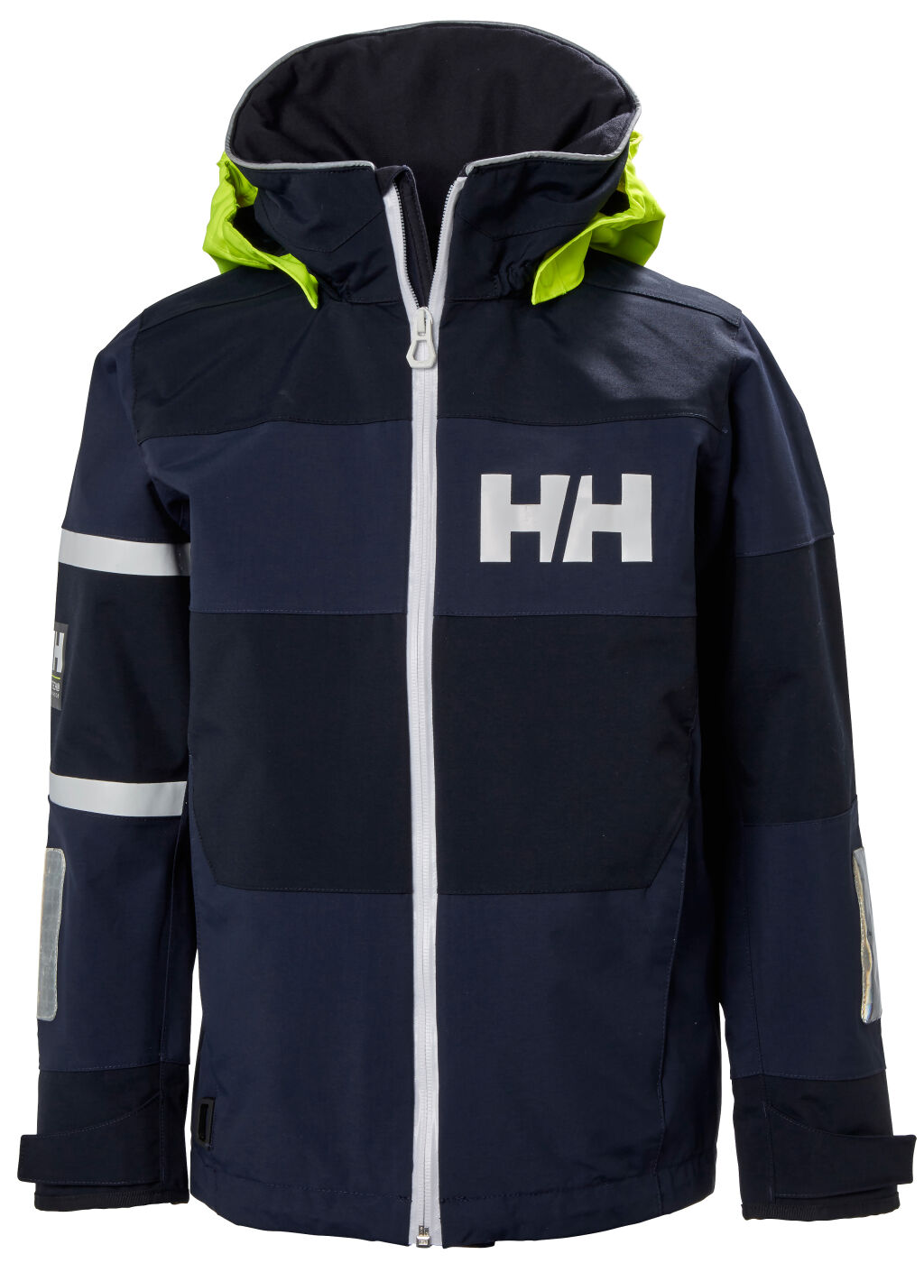 elegant olika stilar låga priser Helly Hansen Jr Salt Coast Jacket lasten ulkoilutakki (tummansininen)