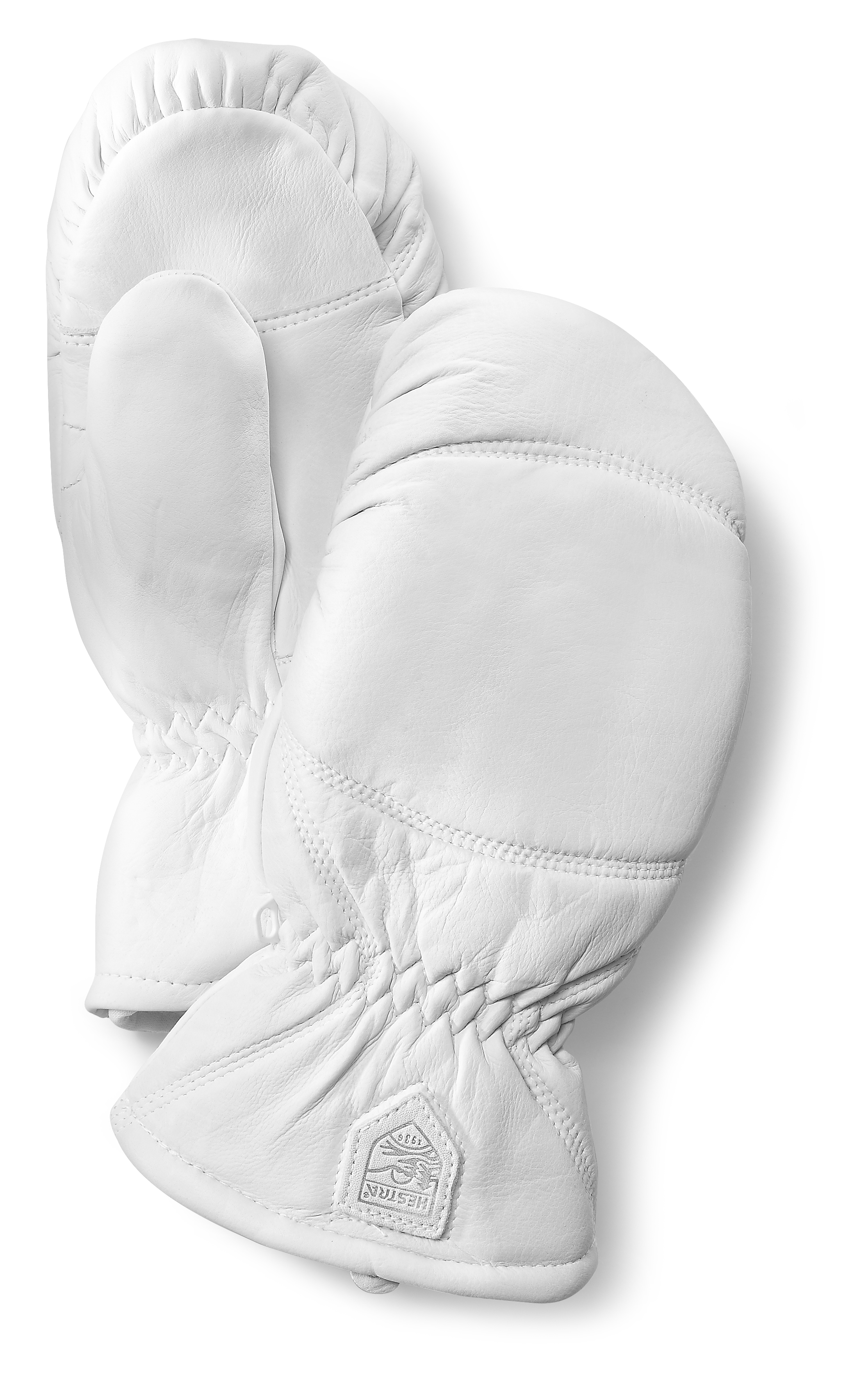 Ski mittens Hestra Leather Box made of leather