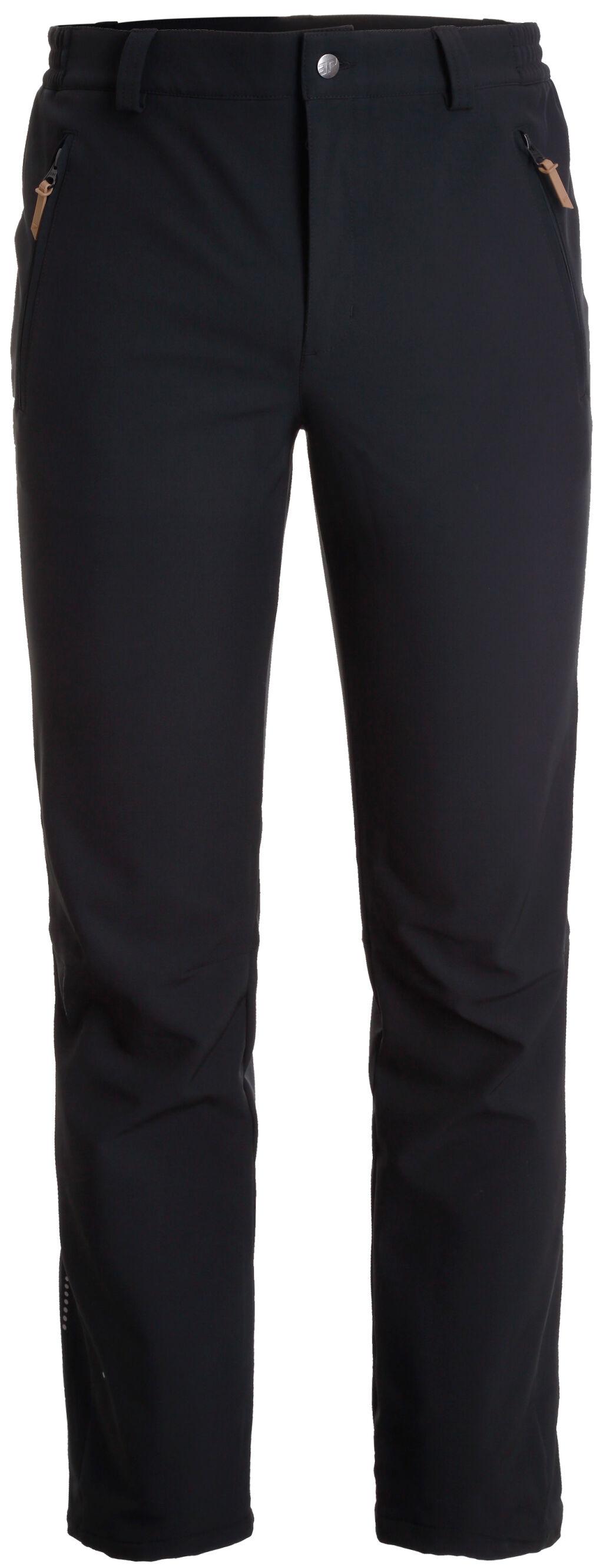 Icepeak Argo miesten softshell housut (musta)