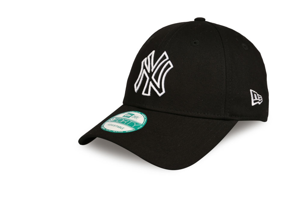 New Era Major League Baseball Outline New York Yankees lippis Musta cde9e756b2