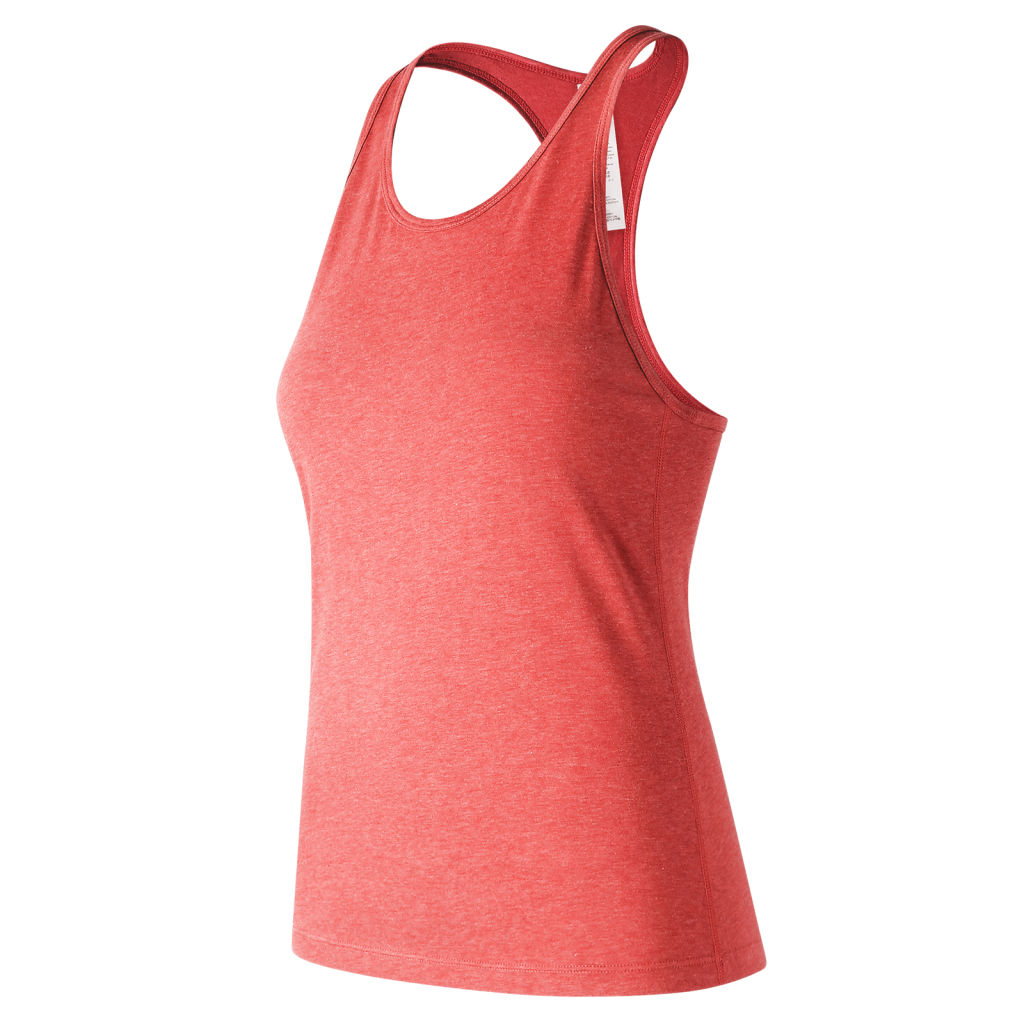 New Balance Heather Tech Racerback Tank W
