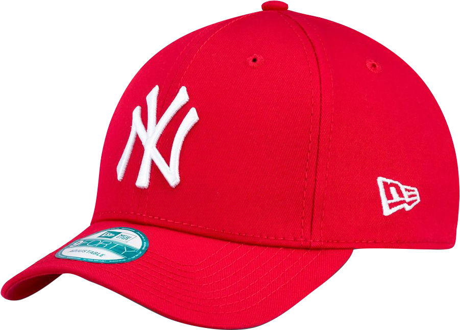 New Era 9forty Leag Basic NY Yankees lippis Punainen a32906d557