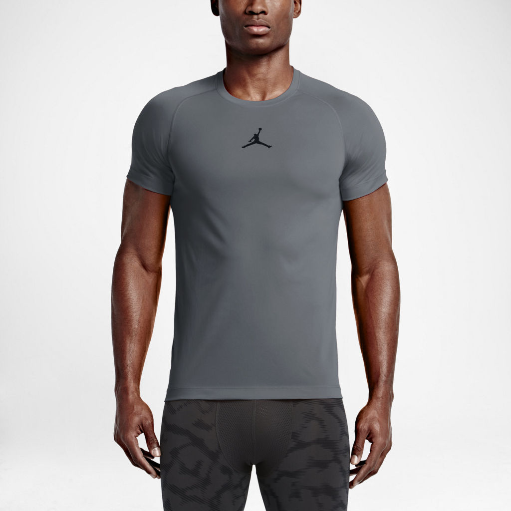 Nike Jordan Dry 23 Alpha Fitted SS Training Top