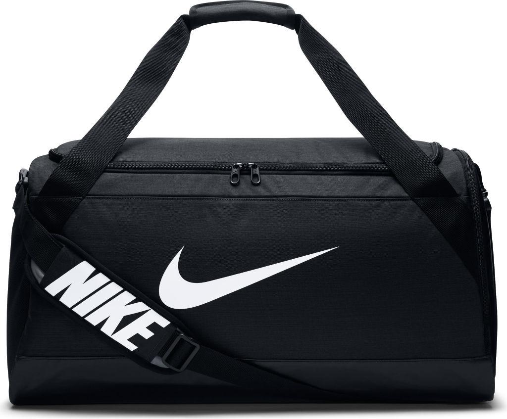 Desanimarse estudiante universitario exprimir  Nike Brasilia 6 Duffel Medium treenilaukku (musta)
