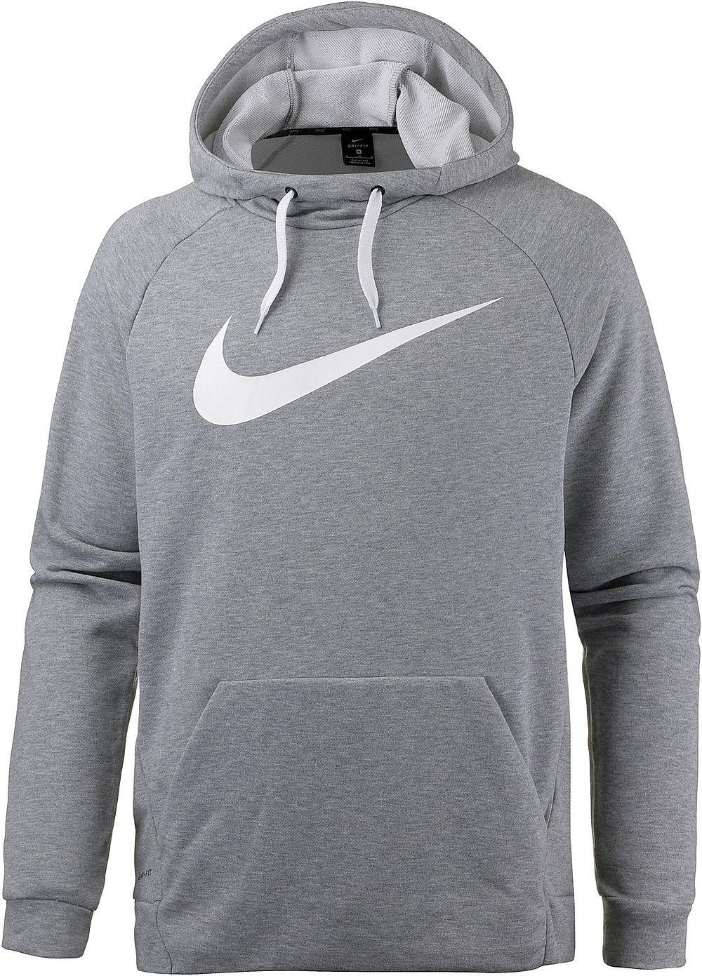 Nike Nk Dry miesten huppari Harmaa e168a54ce3
