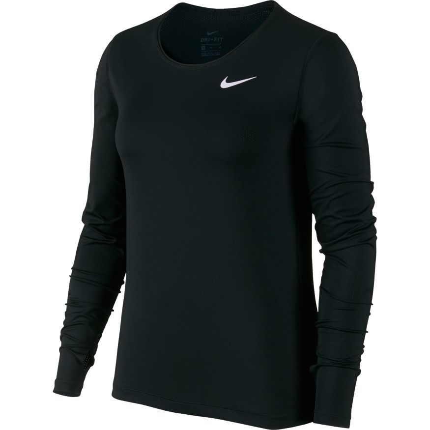 Nike Top LS All Over Mesh W
