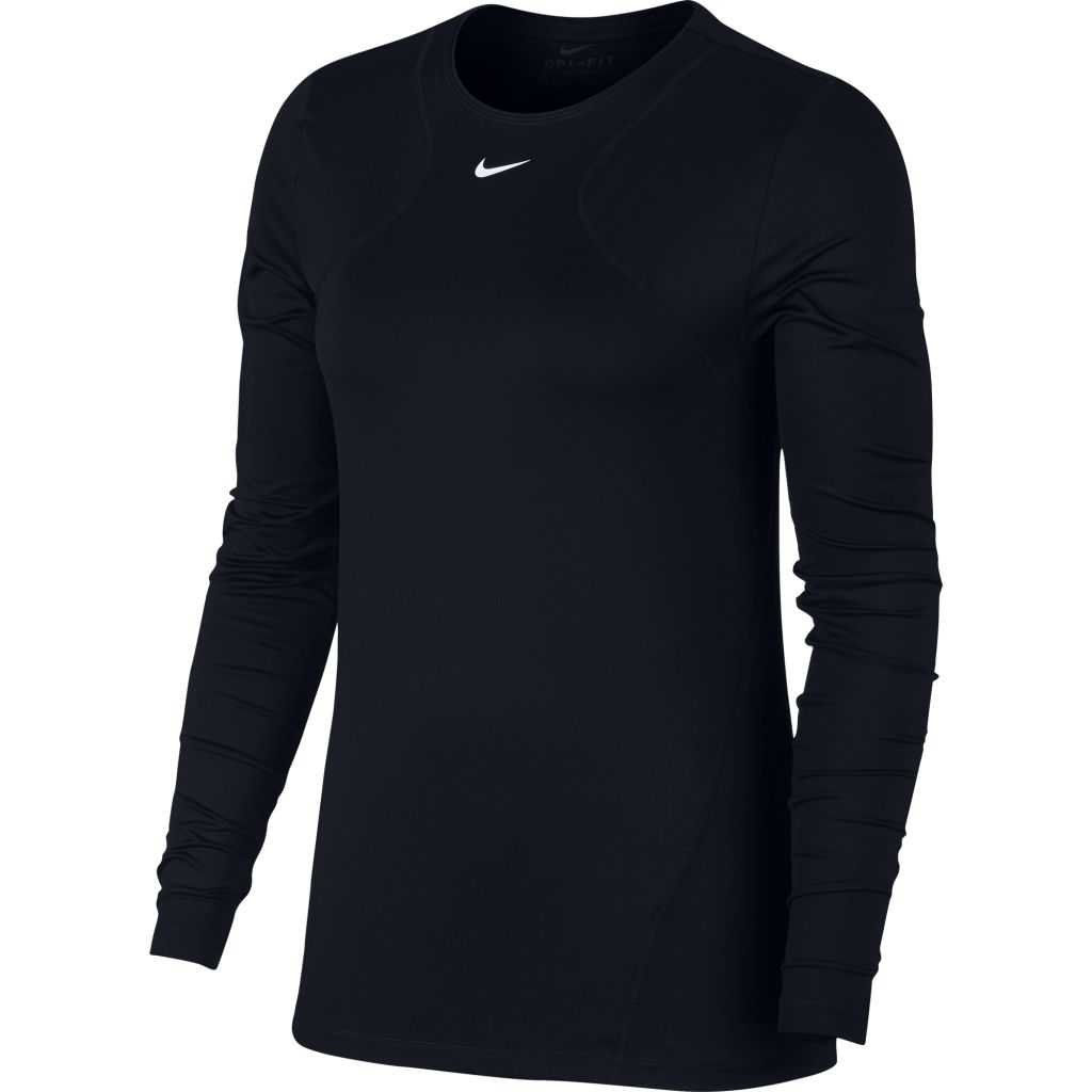 Nike Pro Top LS All Over Mesh W