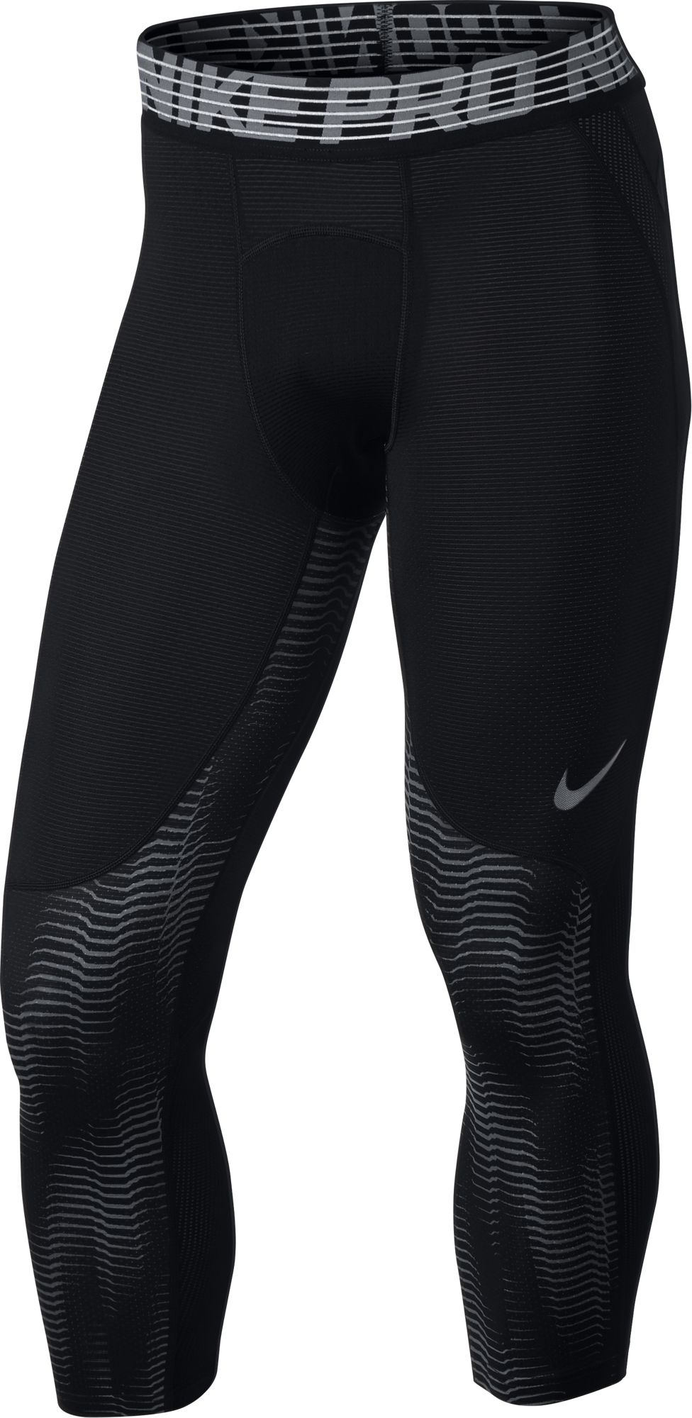 Nike Pro Hypercool Tights 3QT Print