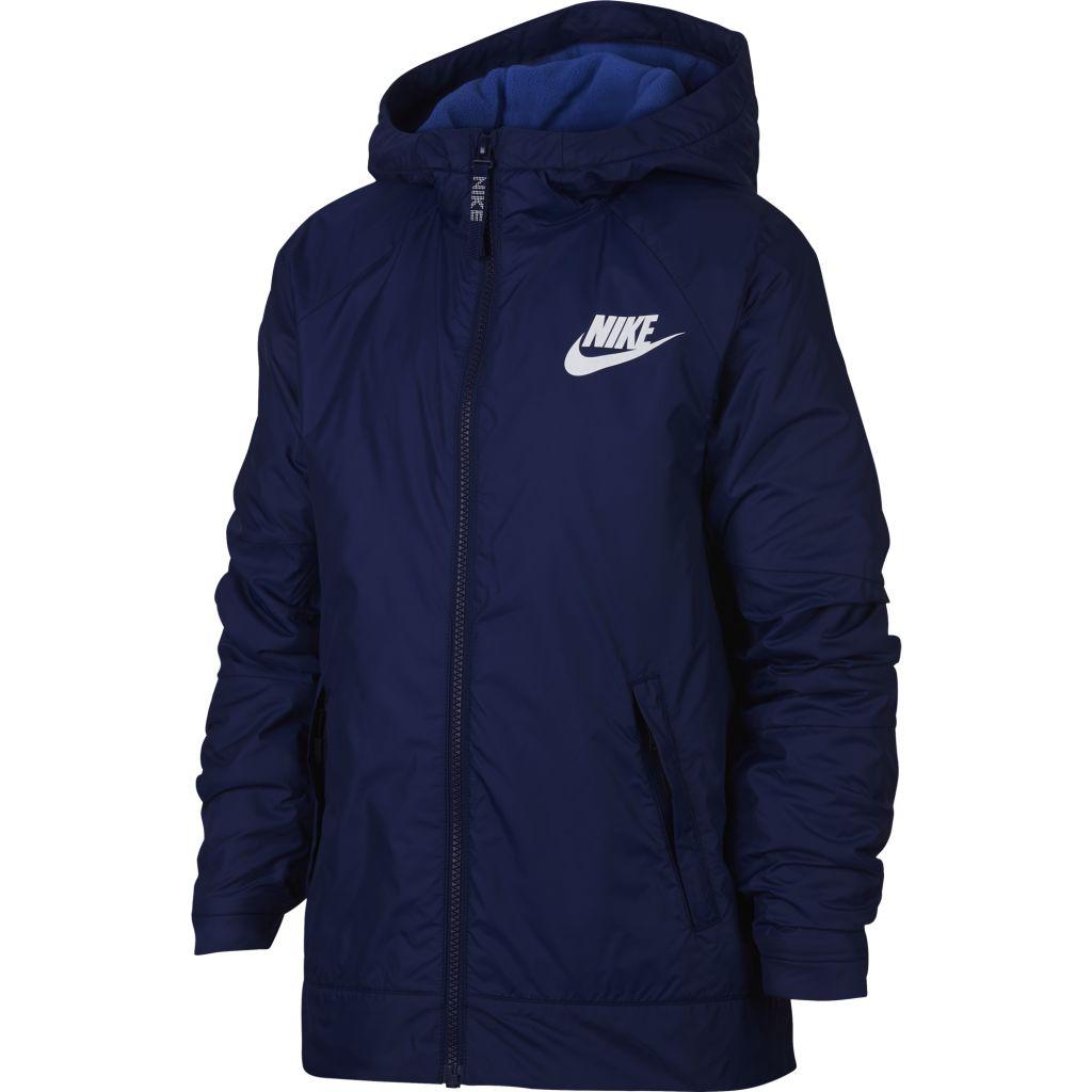 Nike Sportswear Fleece Hooded Jacket JR - Poikien vanutakki - Intersport b751fc5bf1
