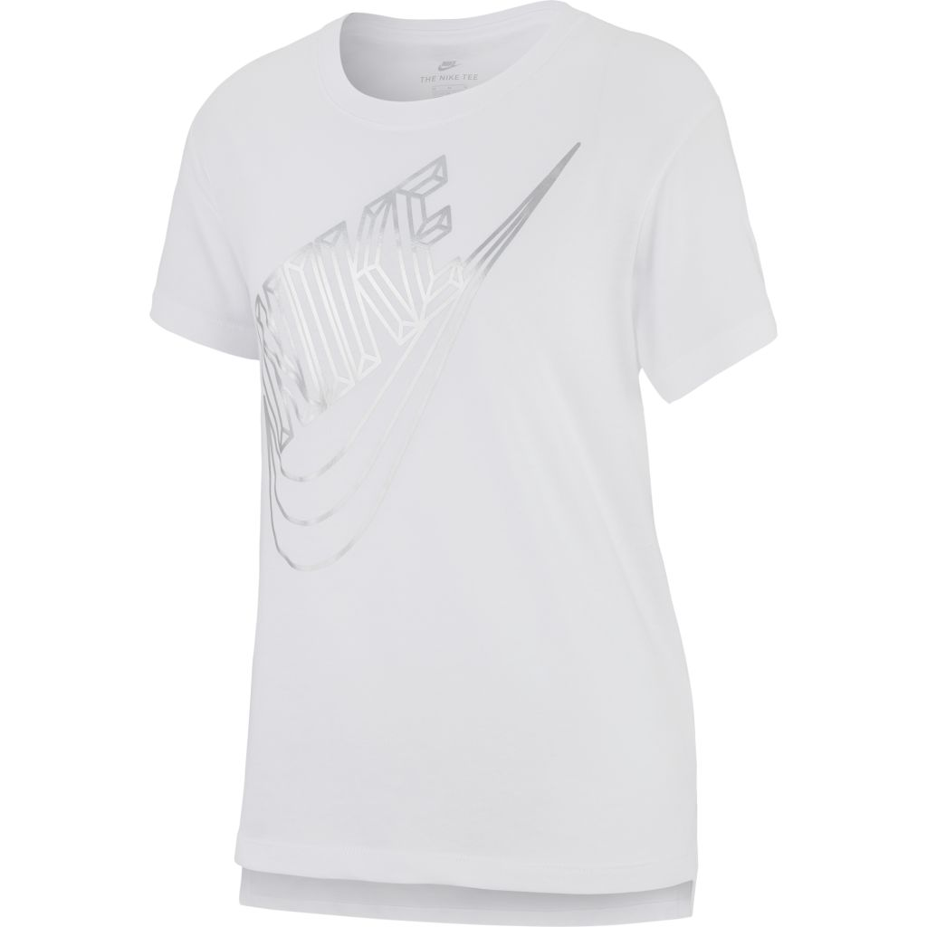 Nike Sportswear Faceted Futura Tee JR