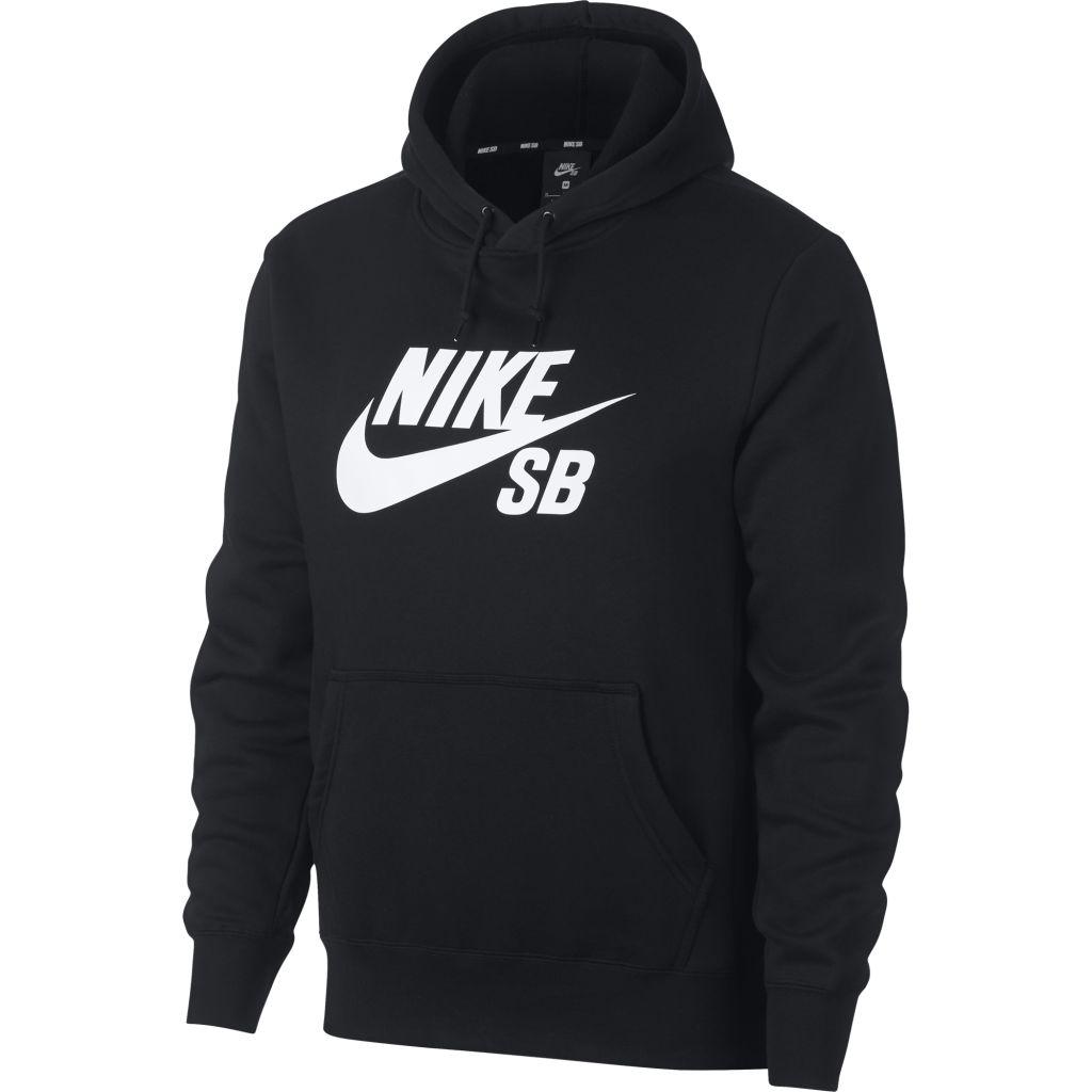 purchase cheap 27a5b be53e Nike SB Icon Pullover Hoodie M. Nike Miehet SB Icon Huppari(musta valkoinen)  ...