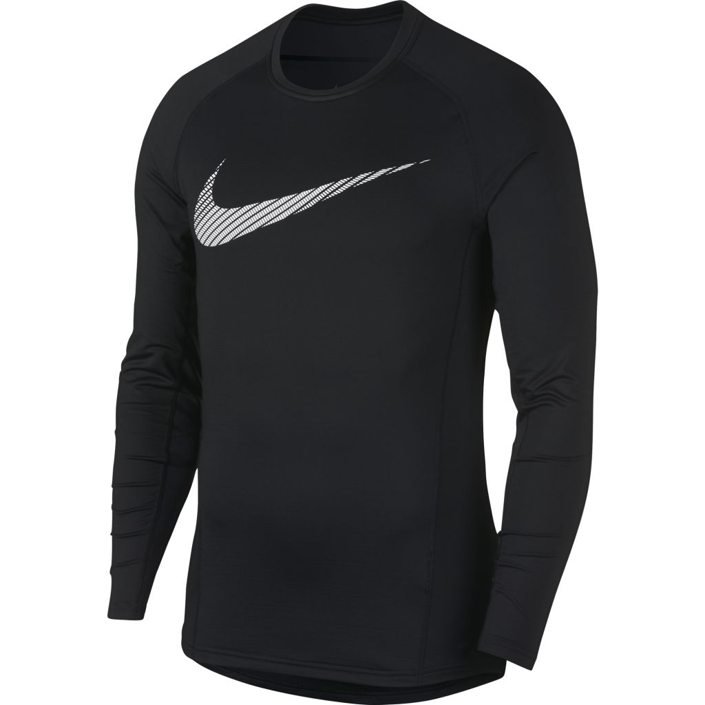 Nike Pro Therma LS Graphic Top