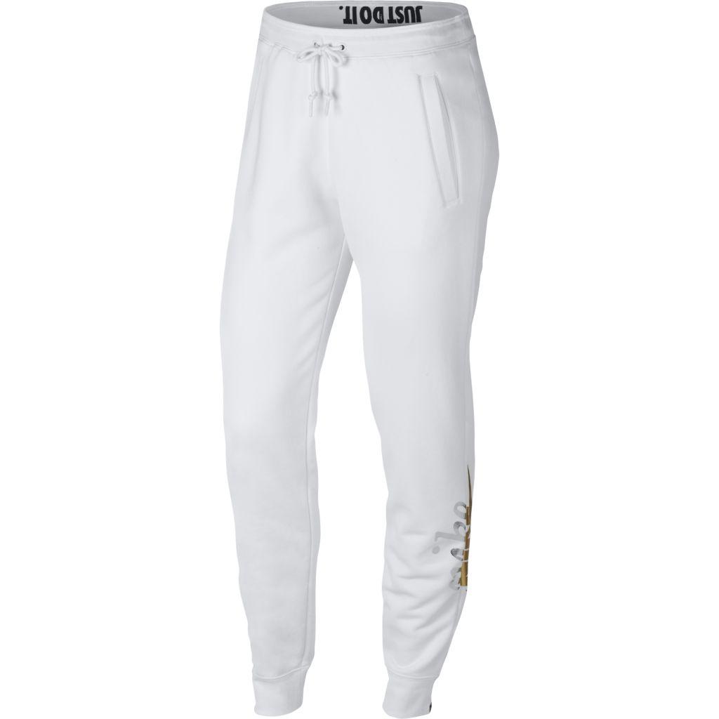 Nike Sportswear Rally Pant Metallic W - Naisten collegehousut ... 4c13d2c338