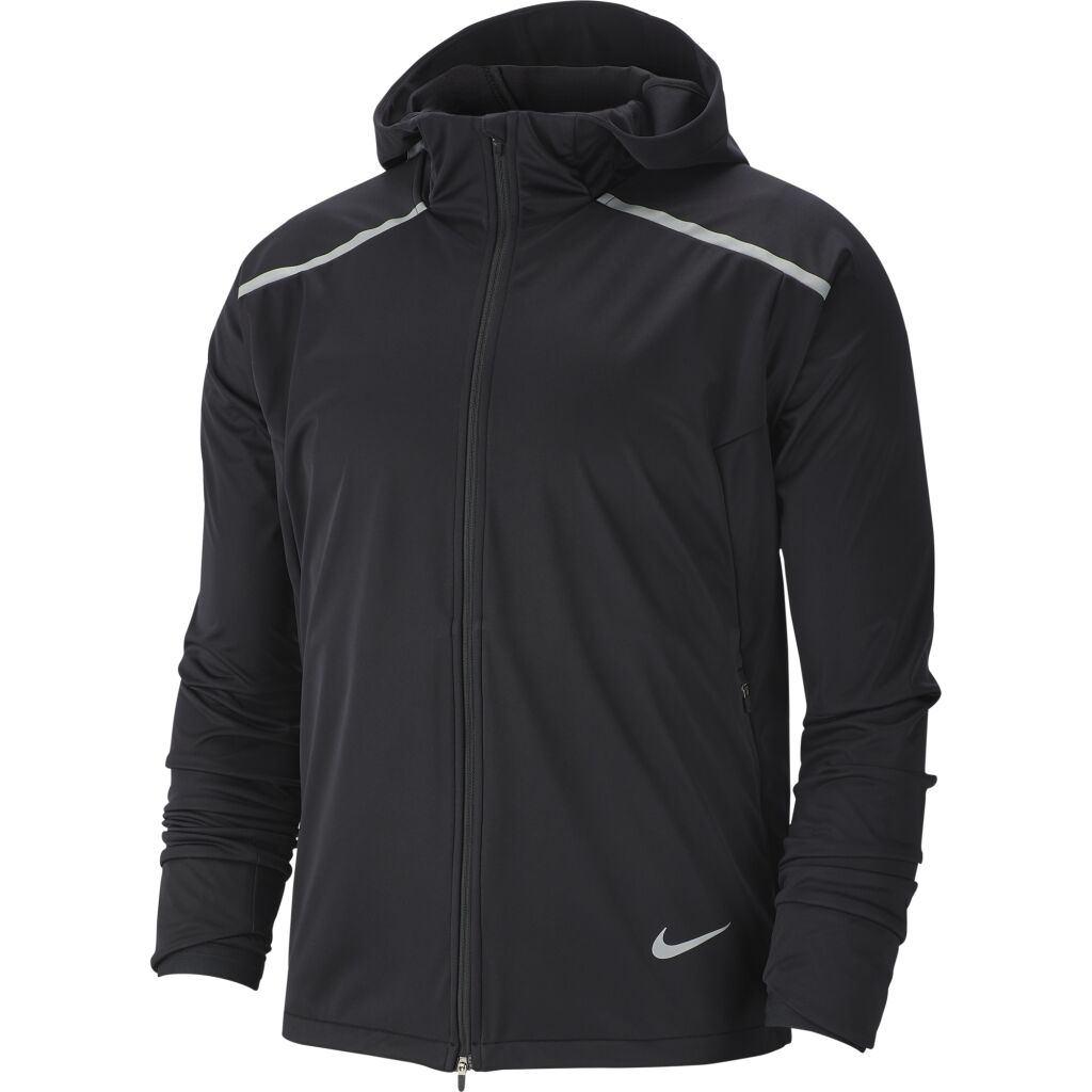 Nike Shield Warm Hooded Running Jacket