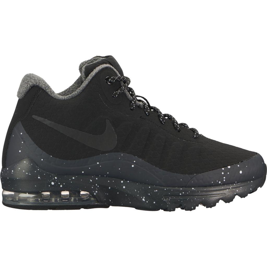 wholesale dealer 6ca6e ac85e Nike Air Max Invigor Mid naisten tennarit Musta