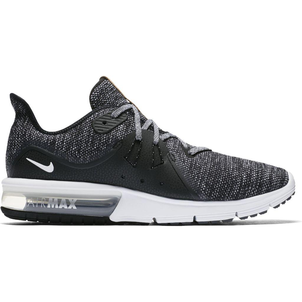 buy popular bcdf8 03567 Nike Air Max Sequent 3 miesten juoksukengät Musta