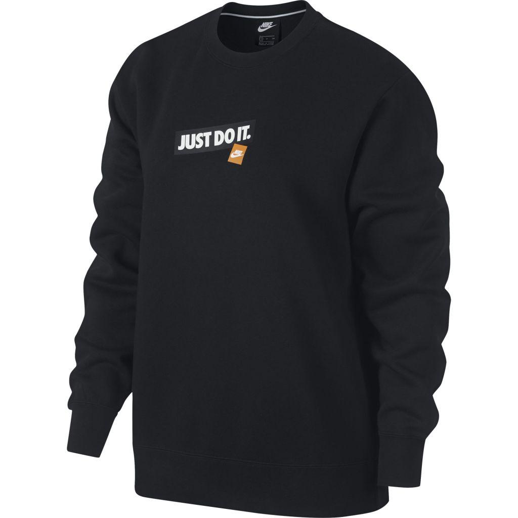 Nike Crew Fleece JDI naisten collegepaita Musta 6de487ca5d