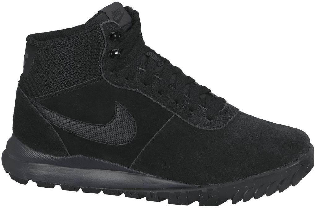 Nike Hoodland Suede miesten talvikengät Musta a91ff17a37