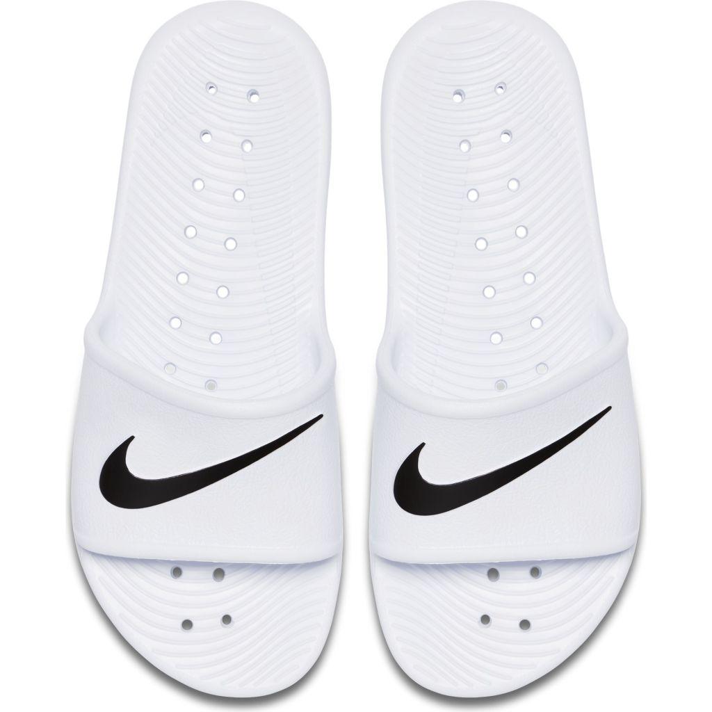 the best attitude de76e 4508e Nike Kawa Slide naisten sandaalit Valkoinen