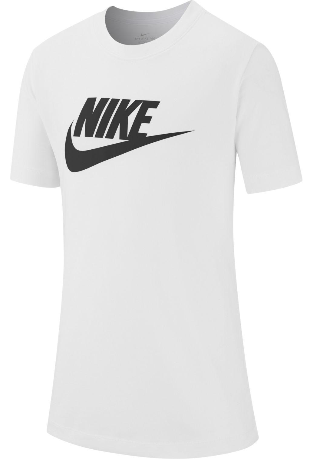 huge discount c9608 0c6ad Nike Nsw Futura Icon poikien t-paita Valkoinen