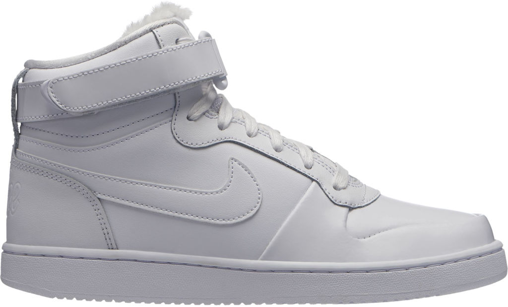 new style 33412 f94d7 Nike Eberdon Mid Premium naisten tennarit Valkoinen