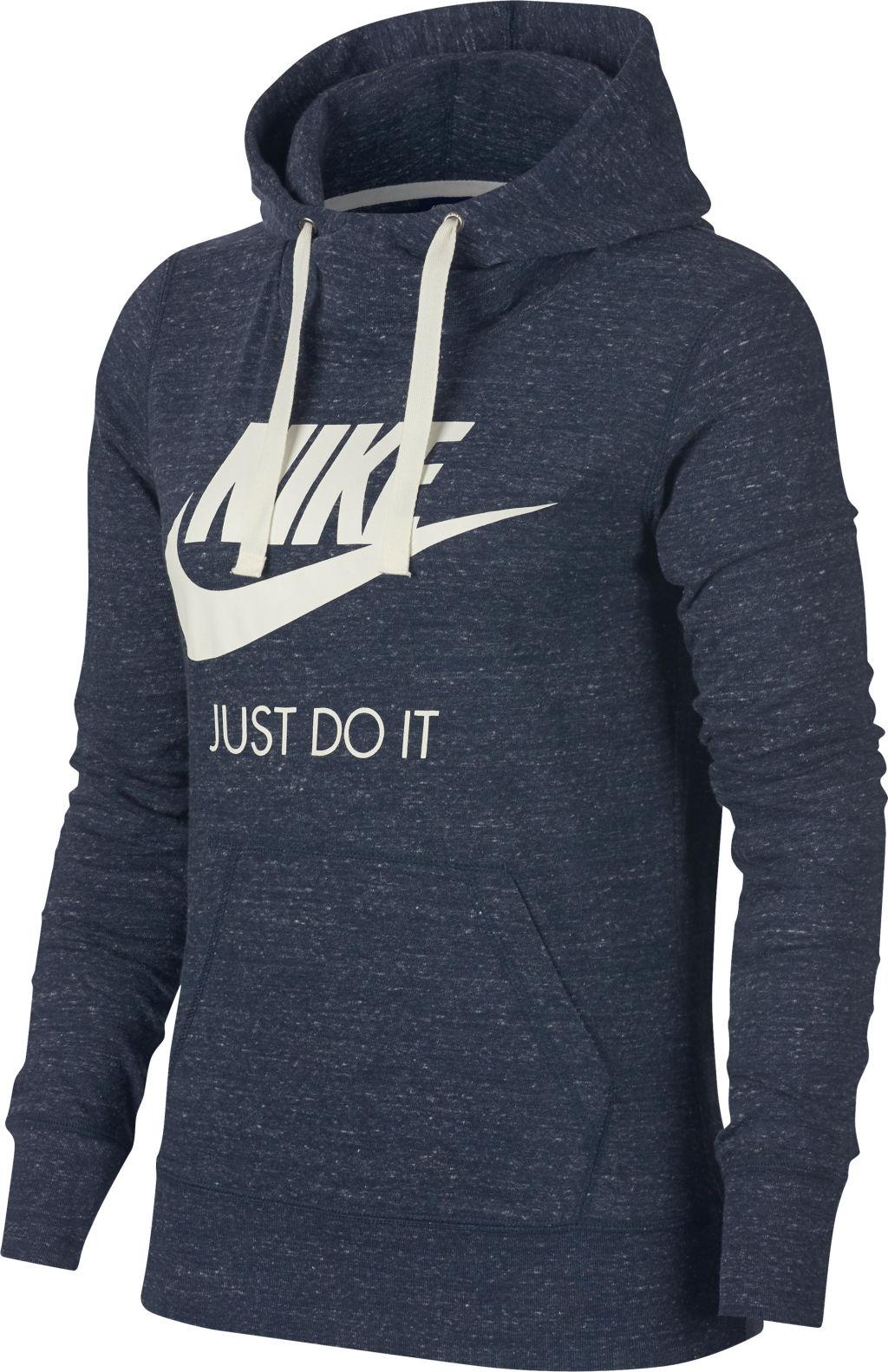 Nike Nsw Gym Vntg naisten huppari Sininen c7dcd7188f