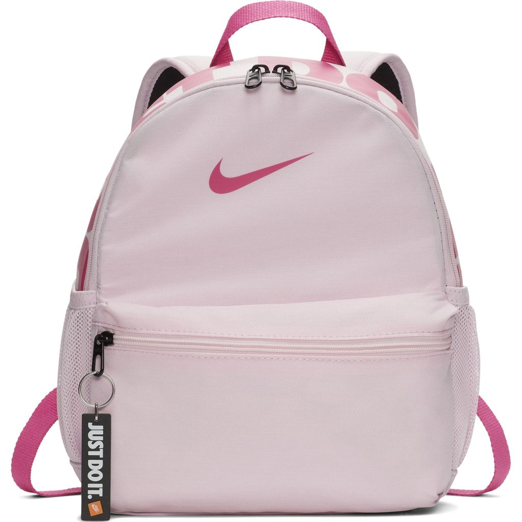 Nike Brasilia JDI lasten reppu Vaaleanpunainen 37c925a57c
